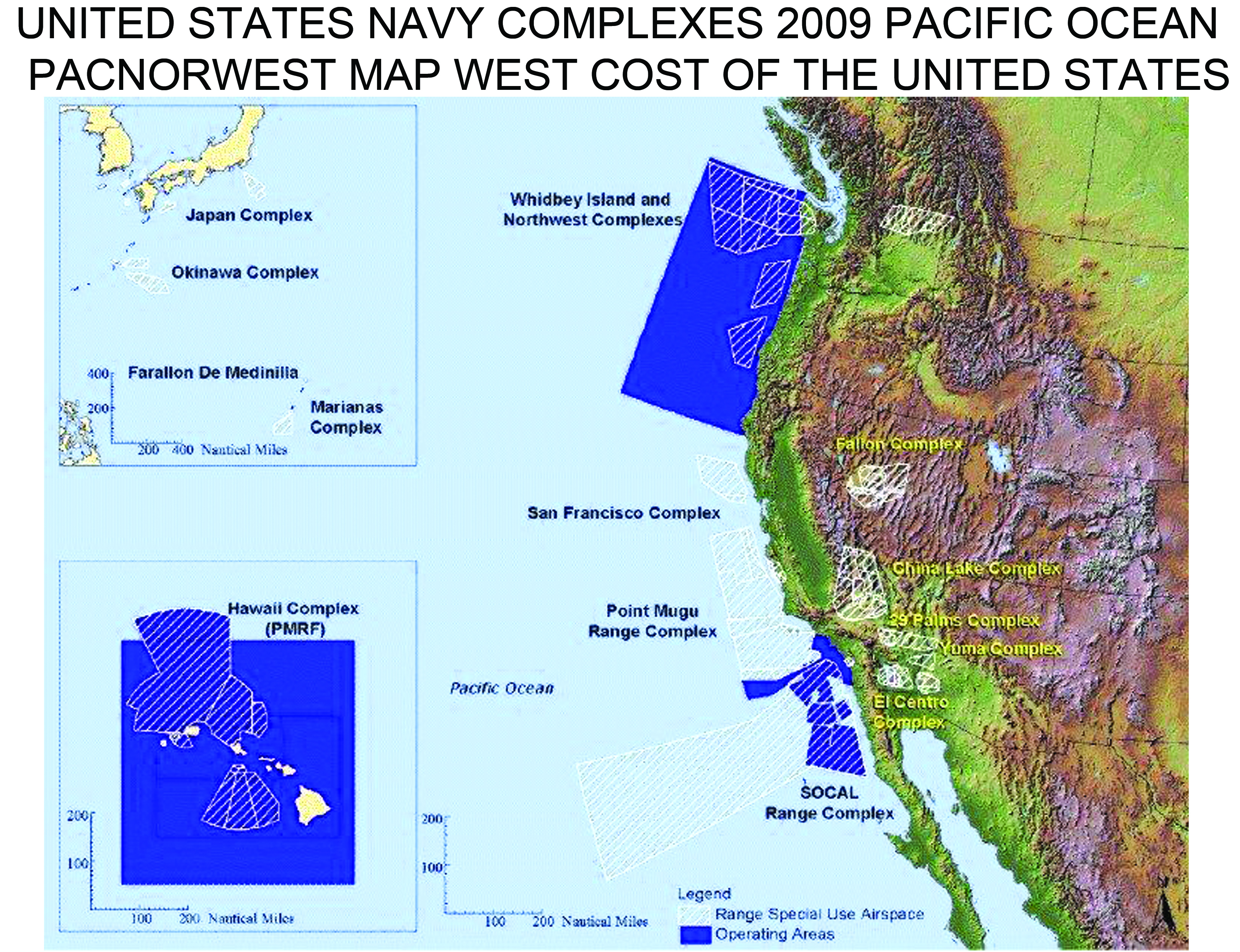 Citizens For Oversight Of Navy Ocean Disposal Operations CONDO - Us maps navy