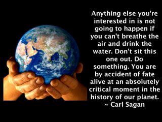 Carl Sagan take action