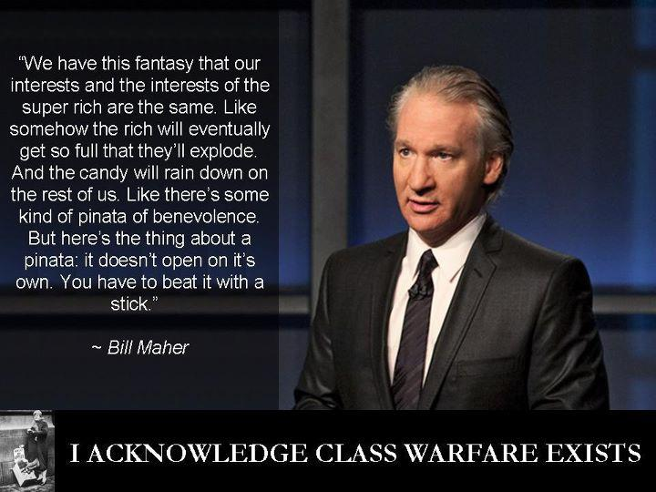 Bill Maher on how to distribute wealth