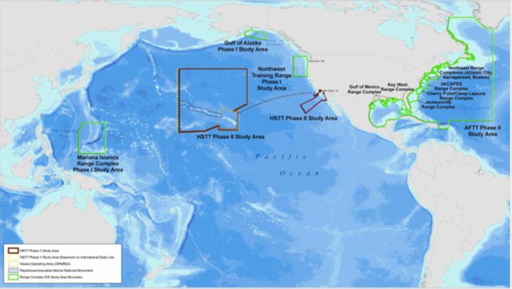 Pacific Ocean Testing Range