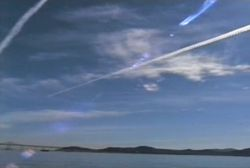 Jet Contrails Over Marin & San Francisco, California 2001-2002